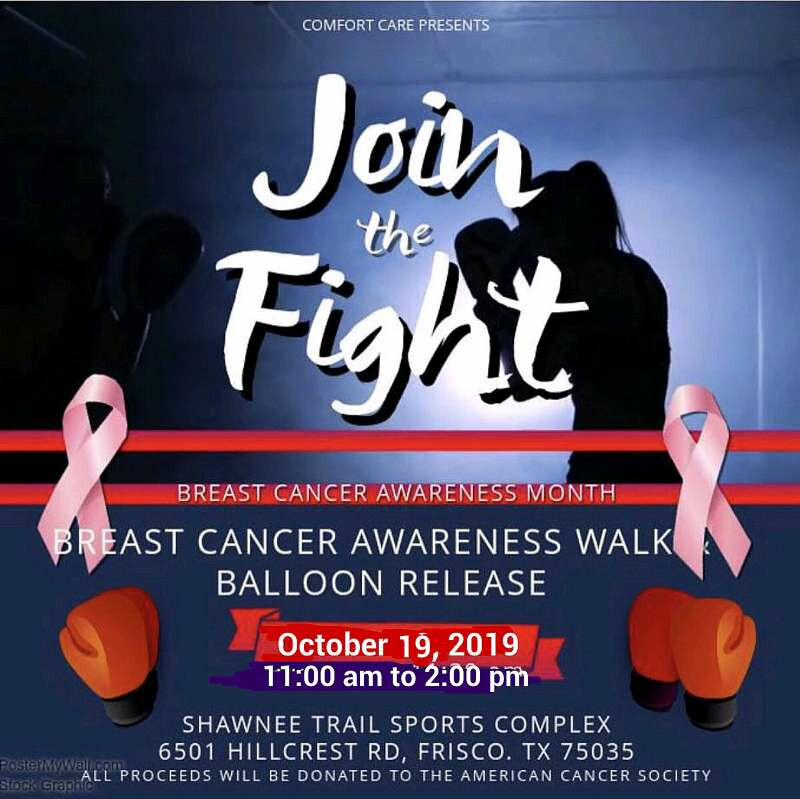 2019 Breast Cancer Awareness Walk and Balloon Release Event